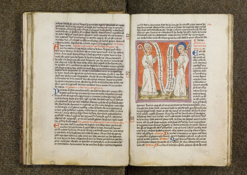 CHANTILLY, Bibliothèque du château, 0738 (1401), f. 015v - 016