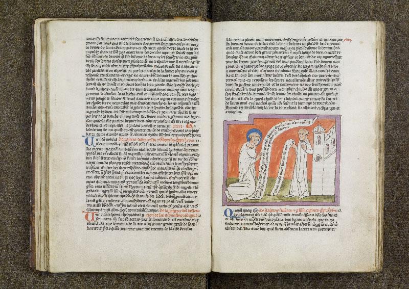 CHANTILLY, Bibliothèque du château, 0738 (1401), f. 017v - 018