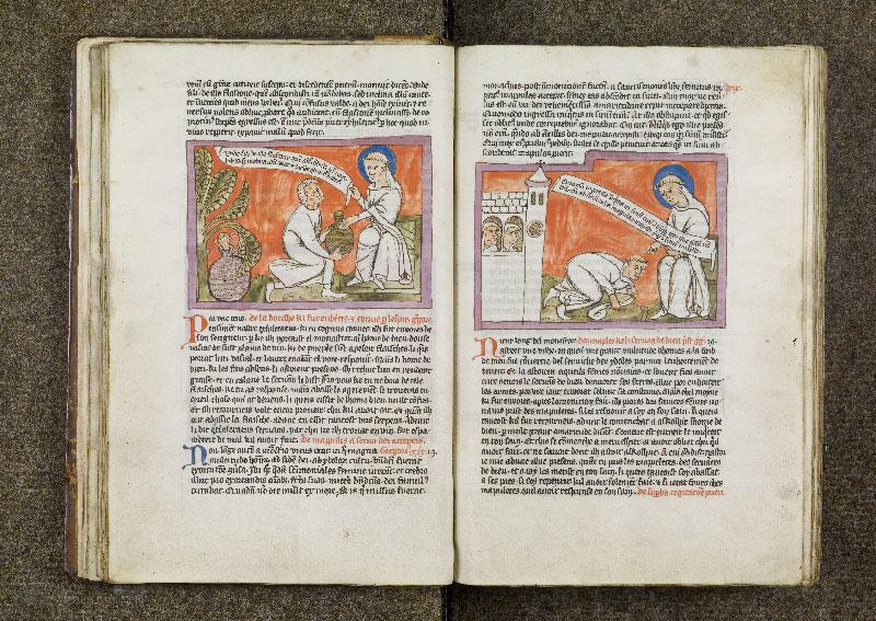 CHANTILLY, Bibliothèque du château, 0738 (1401), f. 018v - 019