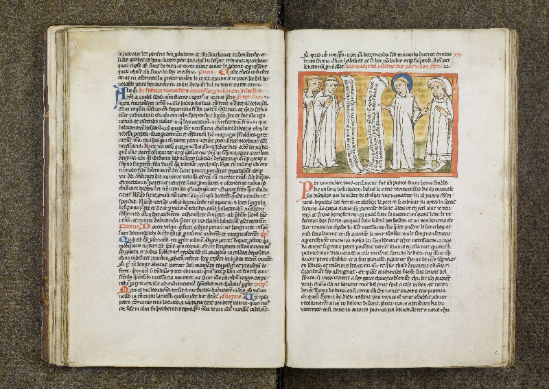 CHANTILLY, Bibliothèque du château, 0738 (1401), f. 020v - 021