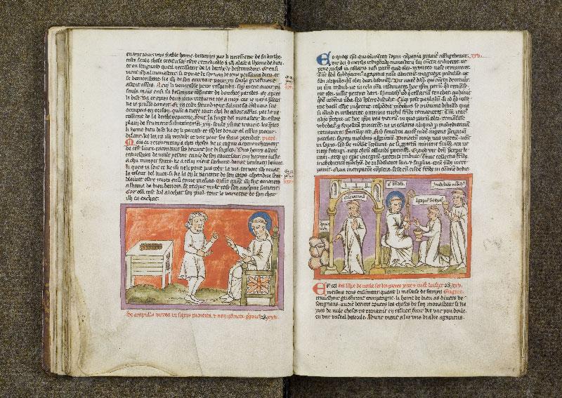 CHANTILLY, Bibliothèque du château, 0738 (1401), f. 024v - 025