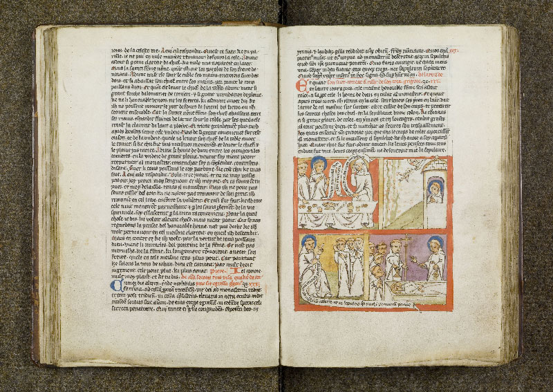 CHANTILLY, Bibliothèque du château, 0738 (1401), f. 029v - 030