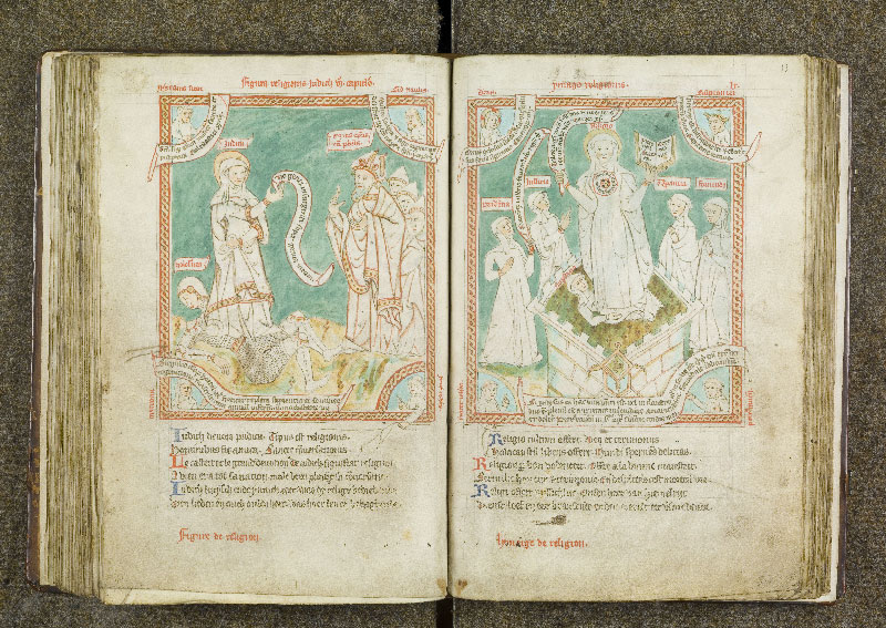 CHANTILLY, Bibliothèque du château, 0738 (1401), f. 112v - 113