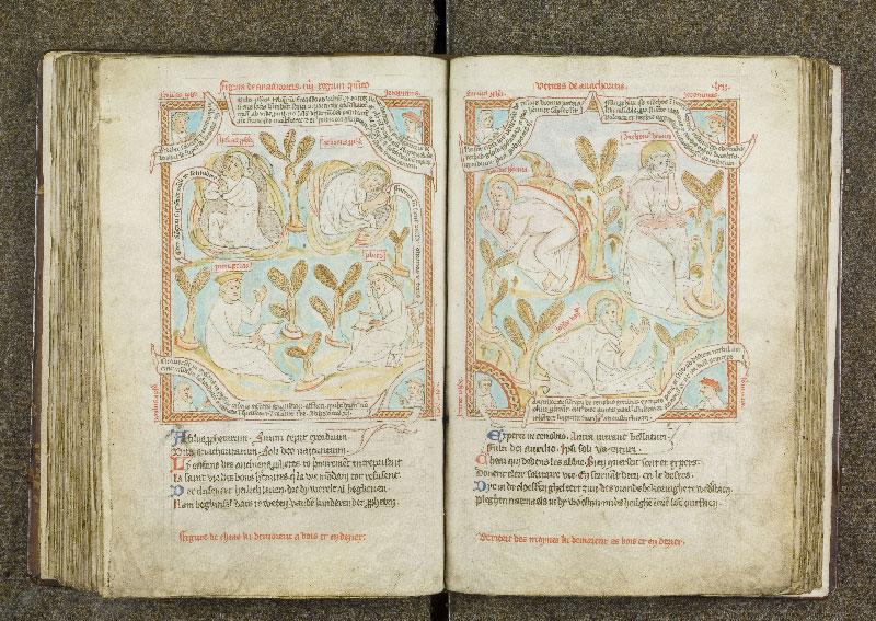 CHANTILLY, Bibliothèque du château, 0738 (1401), f. 114v - 115
