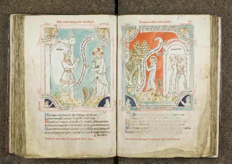 CHANTILLY, Bibliothèque du château, 0738 (1401), f. 117v - 118