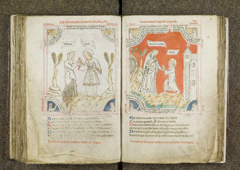 CHANTILLY, Bibliothèque du château, 0738 (1401), f. 118v - 119