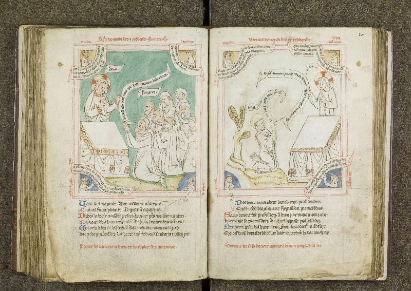 CHANTILLY, Bibliothèque du château, 0738 (1401), f. 119v - 120