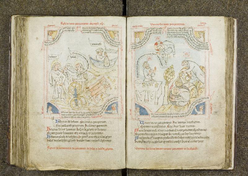 CHANTILLY, Bibliothèque du château, 0738 (1401), f. 120v - 121