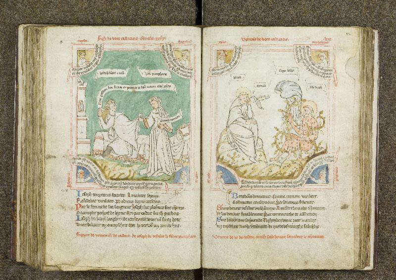 CHANTILLY, Bibliothèque du château, 0738 (1401), f. 121v - 122