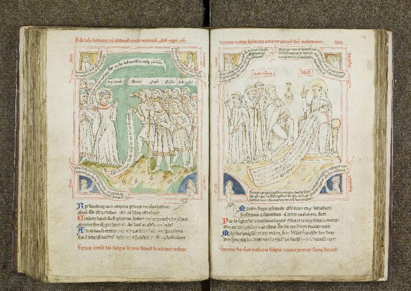 CHANTILLY, Bibliothèque du château, 0738 (1401), f. 124v - 125