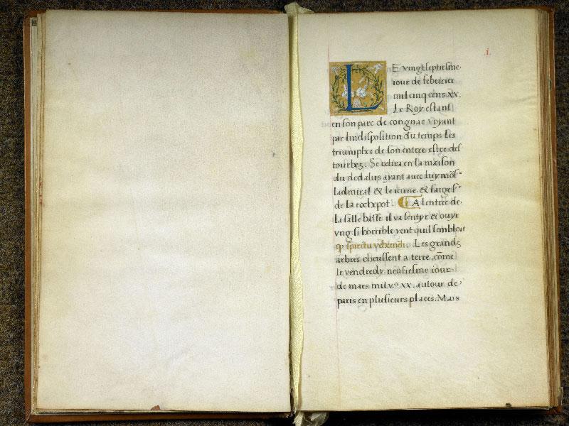 CHANTILLY, Bibliothèque du château, 0764 (1139), f. 000Cv - 001