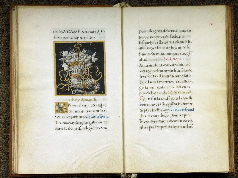 CHANTILLY, Bibliothèque du château, 0764 (1139), f. 004v - 005