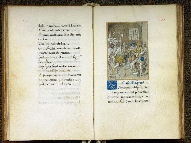 CHANTILLY, Bibliothèque du château, 0764 (1139), f. 020v - 021