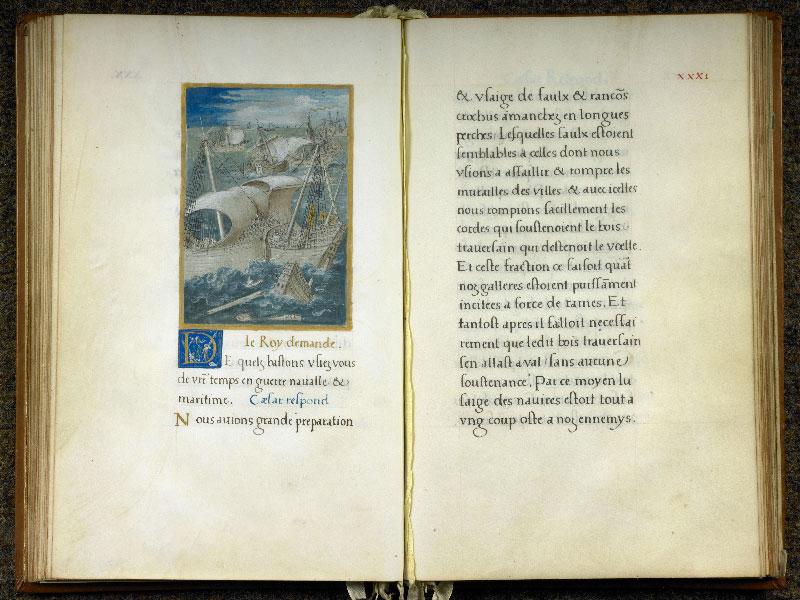 CHANTILLY, Bibliothèque du château, 0764 (1139), f. 030v - 031