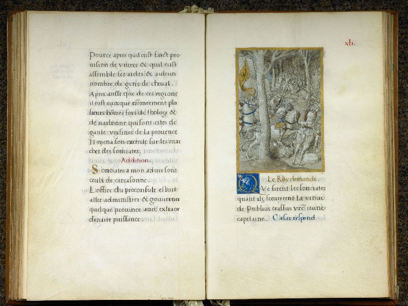 CHANTILLY, Bibliothèque du château, 0764 (1139), f. 040v - 041