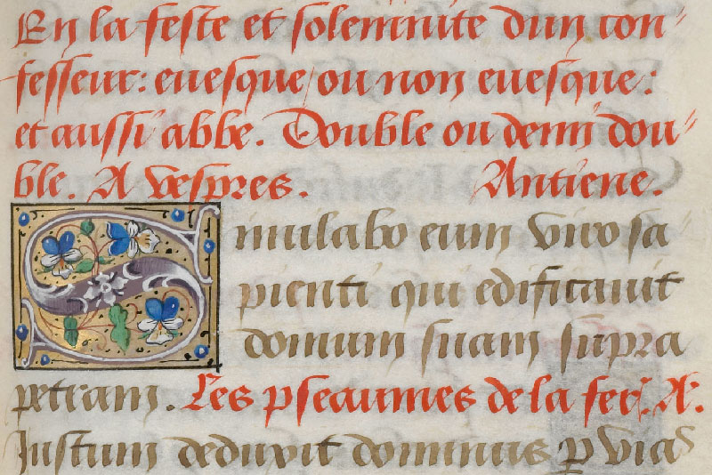 Chantilly, Bibl. du château, ms. 0061 (0811), f. 039