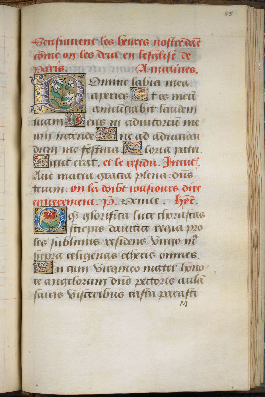 Chantilly, Bibl. du château, ms. 0061 (0811), f. 085
