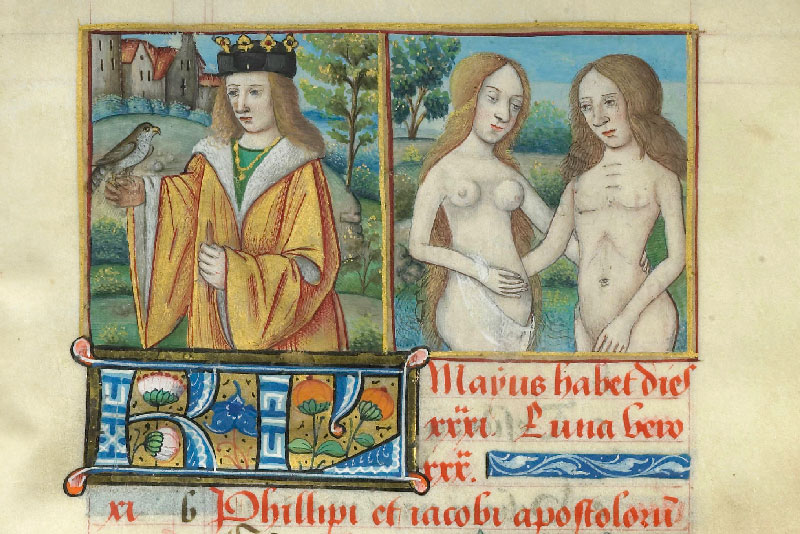 Chantilly, Bibl. du château, ms. 0075 (1140), p. 042