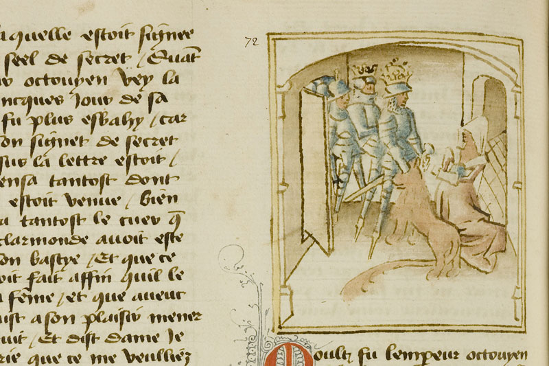 Chantilly, Bibl. du château, ms. 0652 (1082), f. 125v
