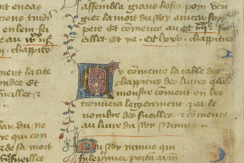 Chantilly, Bibl. du château, ms. 0727 (0601), A f. 001v