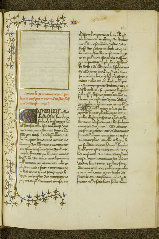 Chantilly, Bibl. du château, ms. 0757 (1048), f. 137