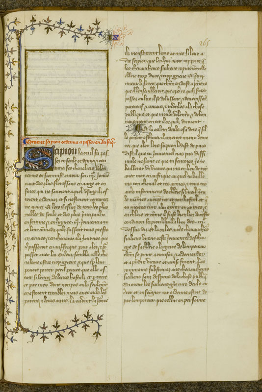 Chantilly, Bibl. du château, ms. 0757 (1048), f. 265
