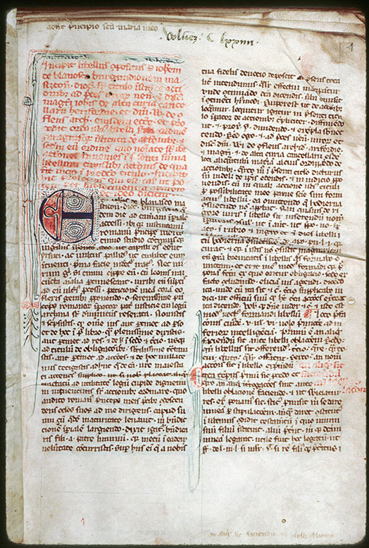Loches, Bibl. mun., ms. 0027, f. 001
