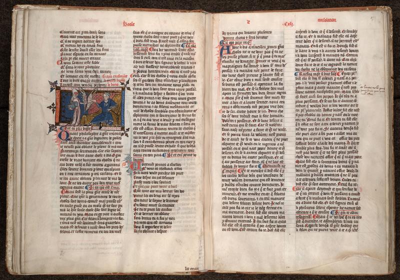 MONTPELLIER, Bibliothèque interuniversitaire , H 043, f. 016v - 017