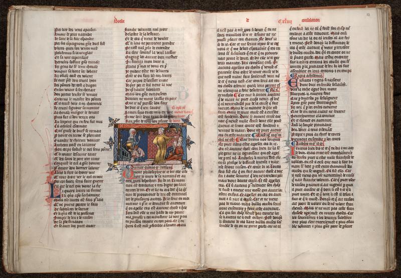 MONTPELLIER, Bibliothèque interuniversitaire , H 043, f. 022v - 023
