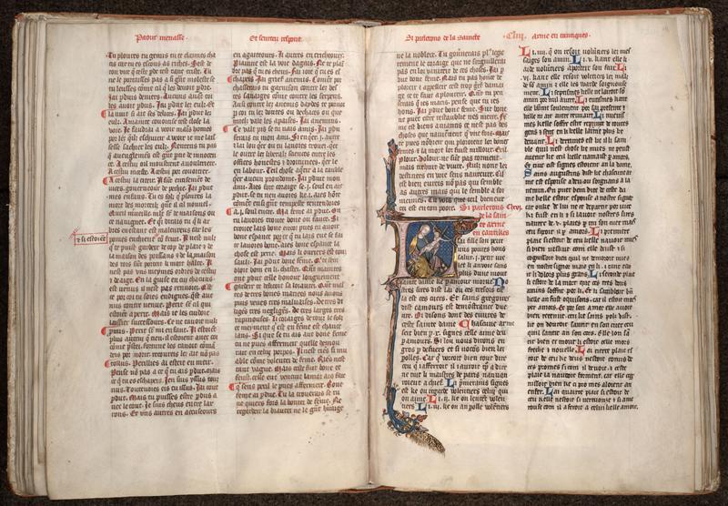 MONTPELLIER, Bibliothèque interuniversitaire , H 043, f. 028v - 029