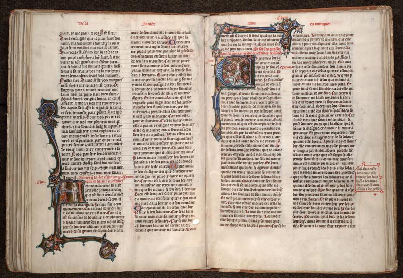 MONTPELLIER, Bibliothèque interuniversitaire , H 043, f. 041v - 042