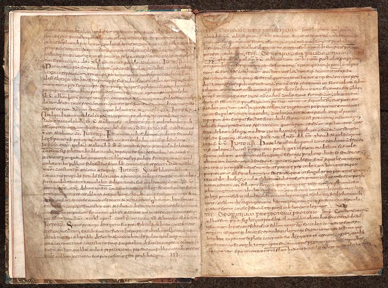 MONTPELLIER, Bibliothèque interuniversitaire , H 084, f. 001v - 002