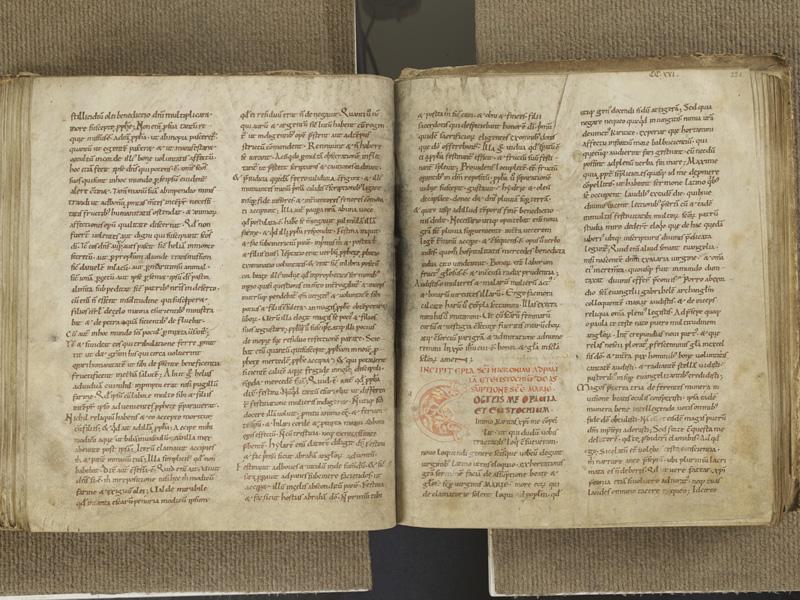 NANTES, Musée Dobrée, ms. 0001, f. 220v - 221
