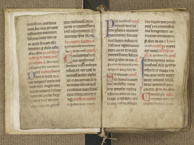 NANTES, Musée Dobrée, ms. 0004, f. 001v - 002