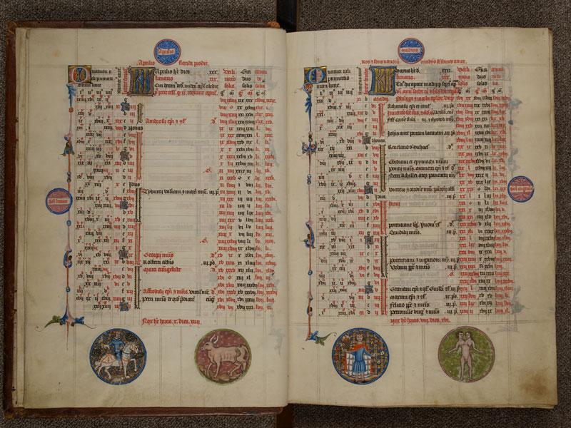 NARBONNE, Trésor de la cathédrale Saint-Just, 02, f. 002v - 003