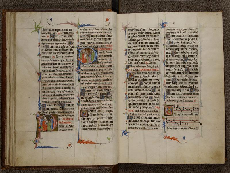 NARBONNE, Trésor de la cathédrale Saint-Just, 02, f. 014v - 015