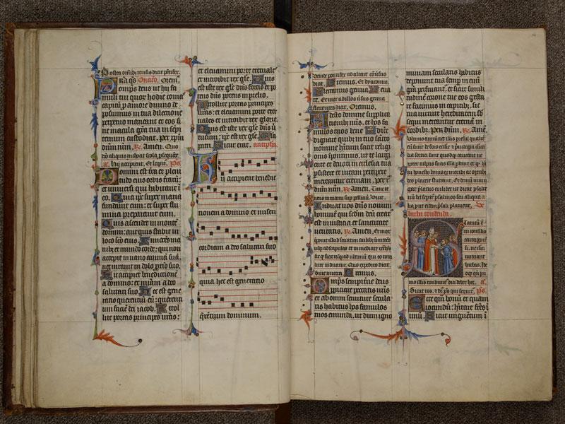 NARBONNE, Trésor de la cathédrale Saint-Just, 02, f. 015v - 016