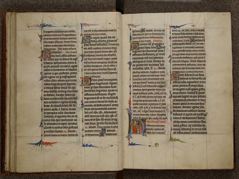 NARBONNE, Trésor de la cathédrale Saint-Just, 02, f. 017v - 018