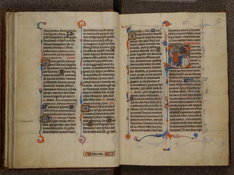 NARBONNE, Trésor de la cathédrale Saint-Just, 02, f. 020v - 021