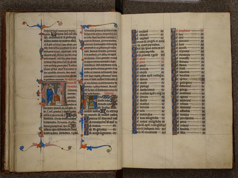 NARBONNE, Trésor de la cathédrale Saint-Just, 02, f. 021v - 022