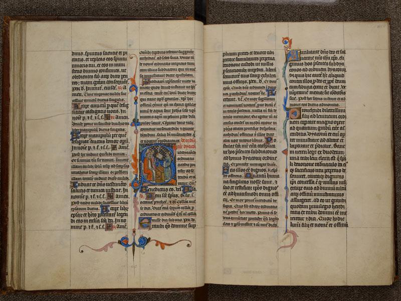 NARBONNE, Trésor de la cathédrale Saint-Just, 02, f. 027v - 028