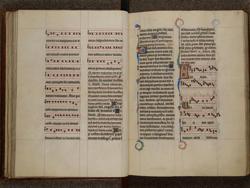 NARBONNE, Trésor de la cathédrale Saint-Just, 02, f. 035v - 036