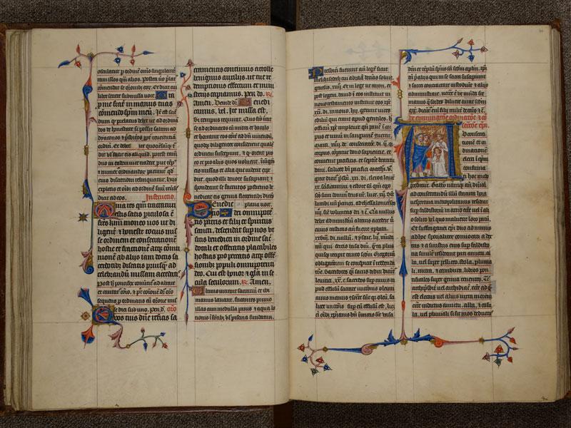 NARBONNE, Trésor de la cathédrale Saint-Just, 02, f. 039v - 040
