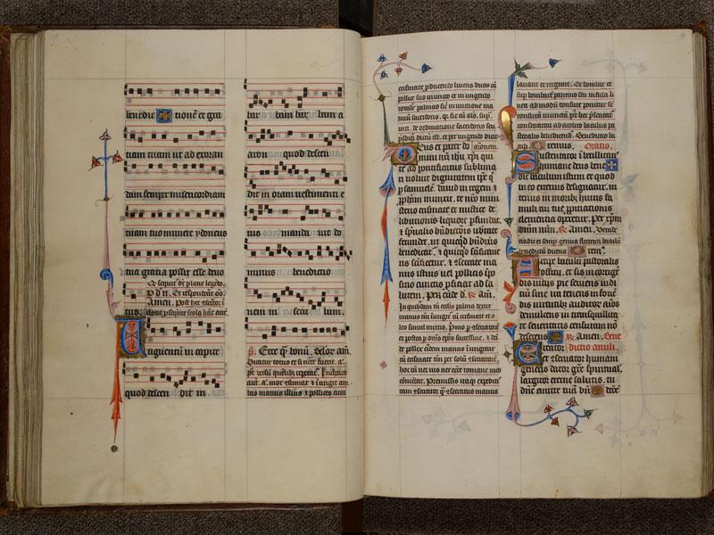 NARBONNE, Trésor de la cathédrale Saint-Just, 02, f. 050v - 051