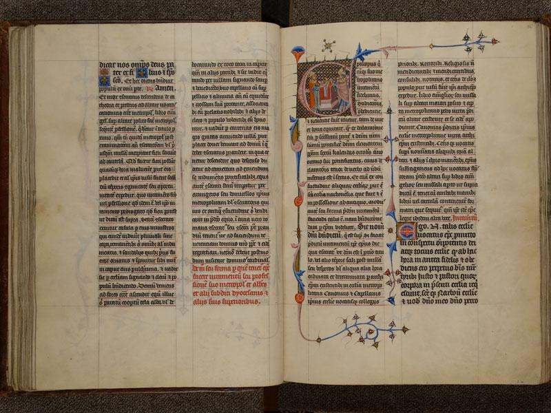 NARBONNE, Trésor de la cathédrale Saint-Just, 02, f. 055v - 056