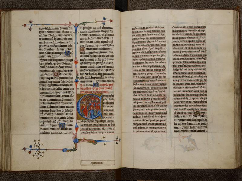 NARBONNE, Trésor de la cathédrale Saint-Just, 02, f. 060v - 061