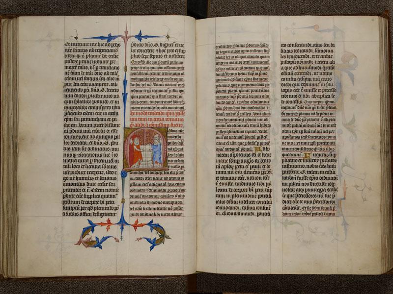 NARBONNE, Trésor de la cathédrale Saint-Just, 02, f. 061v - 062