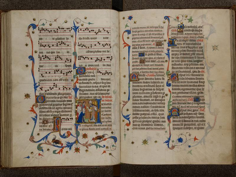 NARBONNE, Trésor de la cathédrale Saint-Just, 02, f. 086v - 087