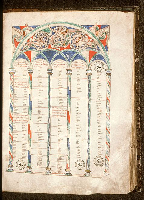 Paris, Bibl. Sainte-Geneviève, ms. 0002, f. 171