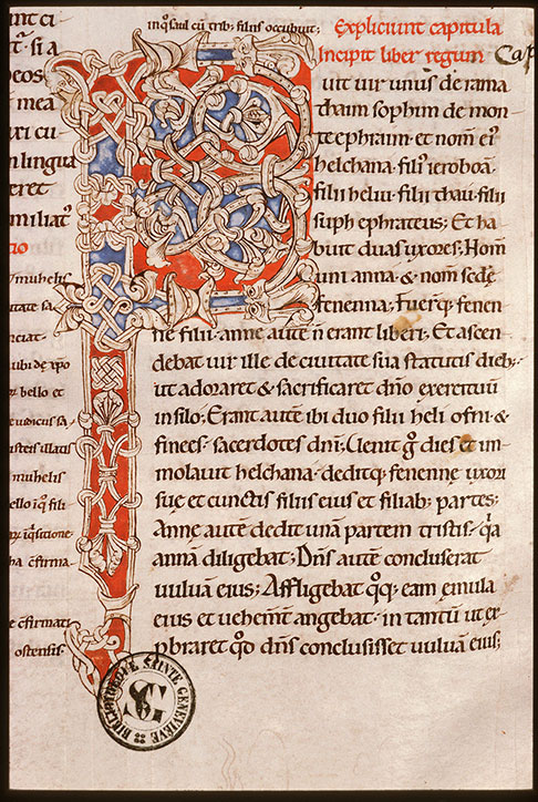 Paris, Bibl. Sainte-Geneviève, ms. 0003, f. 104v